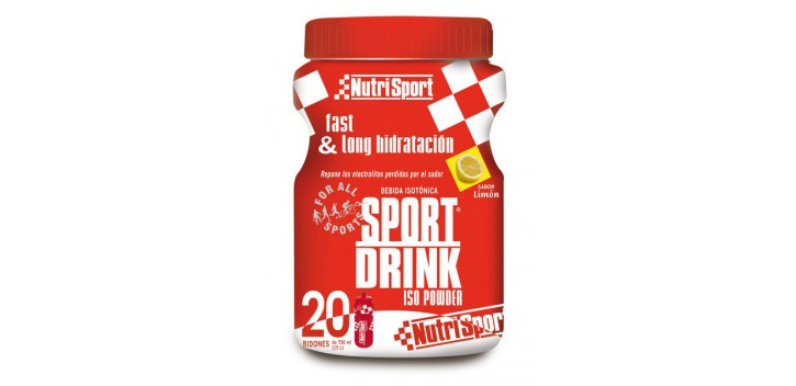 Sport Drink 1120 g + bidón 750 ml