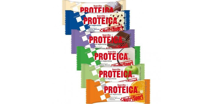 Barrita Protéica Nutrisport 46 gr